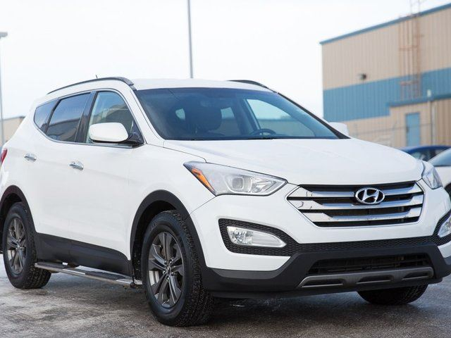 2013 hyundai santa fe 2 4 luxury red deer county alberta used car for sale 2690731. Black Bedroom Furniture Sets. Home Design Ideas