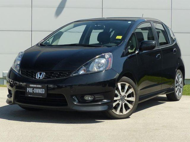 2013 honda fit sport 5at black burrard acura. Black Bedroom Furniture Sets. Home Design Ideas