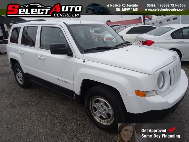 2011 jeep patriot sport north no accidents toronto ontario used car for sale 2690554. Black Bedroom Furniture Sets. Home Design Ideas