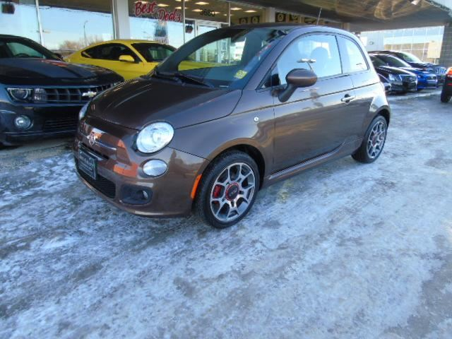 2014 fiat 500 sport low price winnipeg manitoba used. Black Bedroom Furniture Sets. Home Design Ideas