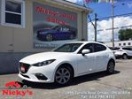 2014 Mazda MAZDA3 SPORT GX, SKYACTIV TECHNOLOGY, AUTOMATIC, HATCHBACK, FULL FACTORY WARRANTY, LOW KMs! $0 DOWN $115 BI-WEEKLY! in Ottawa, Ontario
