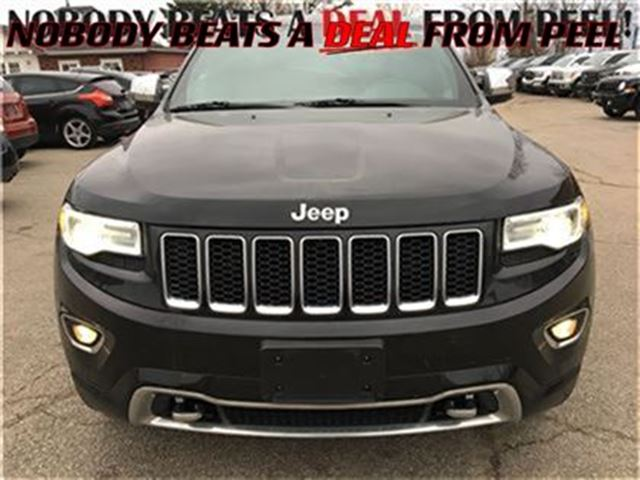 2014 jeep grand cherokee overland diesel low klms in mississauga. Black Bedroom Furniture Sets. Home Design Ideas