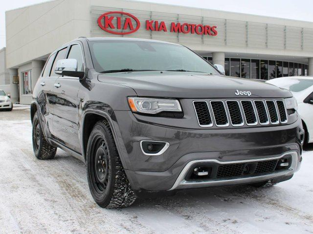 2014 jeep grand cherokee overland grey southtown kia. Cars Review. Best American Auto & Cars Review
