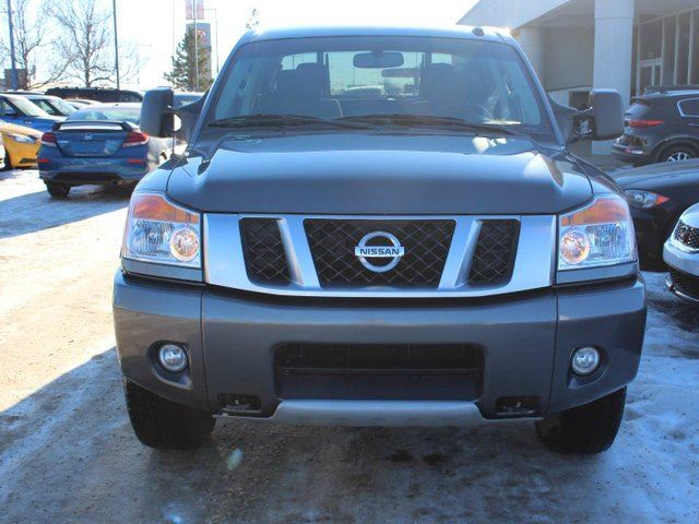 2014 nissan titan pro 4x edmonton alberta used car for sale 2692290. Black Bedroom Furniture Sets. Home Design Ideas