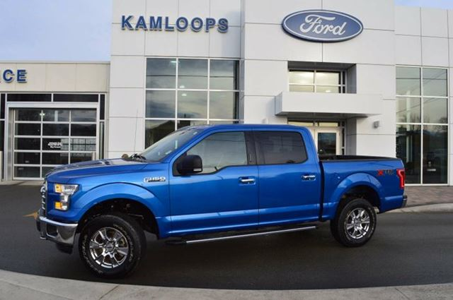 2015 ford f 150 xlt 4x4 supercrew cab 5 5 ft box 145 in wb kamloops british columbia used. Black Bedroom Furniture Sets. Home Design Ideas