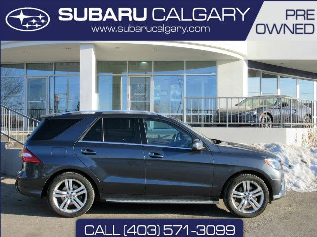 2013 mercedes benz m class base calgary alberta car for sale 2691834. Black Bedroom Furniture Sets. Home Design Ideas