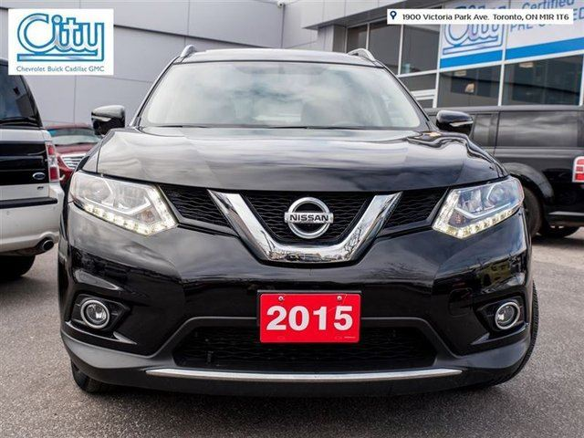2015 nissan rogue sl toronto ontario used car for sale 2692153. Black Bedroom Furniture Sets. Home Design Ideas