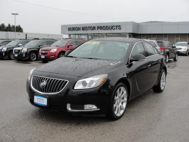 2013 buick regal turbo sport exeter ontario used car. Black Bedroom Furniture Sets. Home Design Ideas