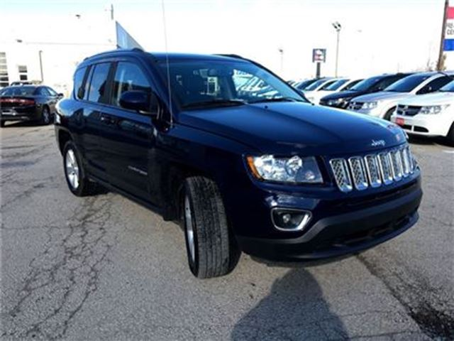 2016 jeep compass high altitude 151 b w hst 0 down 96m 4 9 toronto ontario used car. Black Bedroom Furniture Sets. Home Design Ideas
