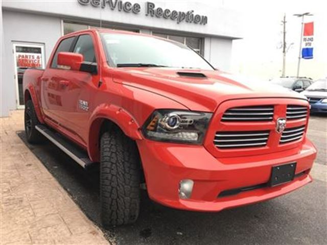 2016 dodge ram 1500 sport 2 level lift simcoe ontario used car for sale 2692771. Black Bedroom Furniture Sets. Home Design Ideas