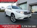 2013 Toyota Highlander V6 ACCIDENT FREE w/ LEATHER & SUNROOF in Surrey, British Columbia