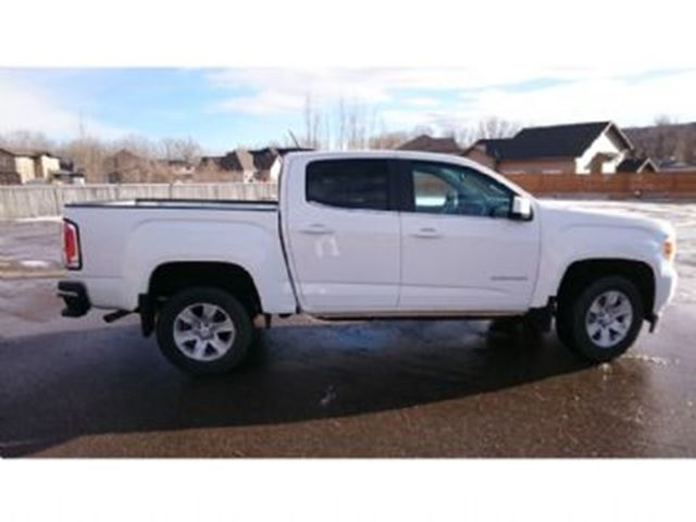 2016 gmc canyon 2wd crew cab sle 128 3 free lease. Black Bedroom Furniture Sets. Home Design Ideas