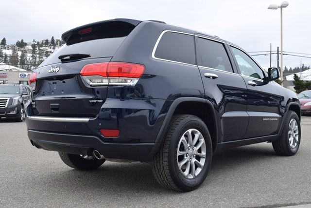 2014 jeep grand cherokee limited kelowna british columbia used car for sale 2692656. Black Bedroom Furniture Sets. Home Design Ideas