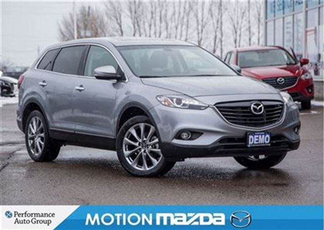 2015 mazda cx 9 gt demo leather roof navi orangeville ontario used. Black Bedroom Furniture Sets. Home Design Ideas