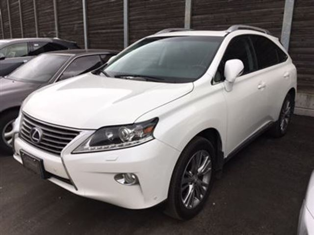 2014 lexus rx 450h hybrid only 16880 km toronto ontario used car for sale 2693501. Black Bedroom Furniture Sets. Home Design Ideas