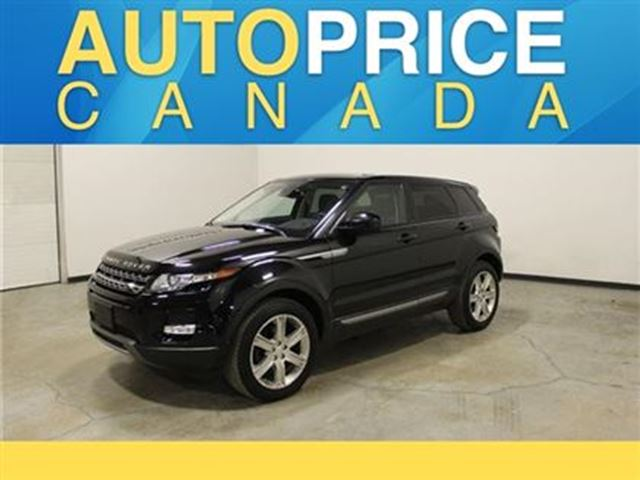 2014 land rover range rover evoque pure plus navigation panoroof black autoprice canada. Black Bedroom Furniture Sets. Home Design Ideas