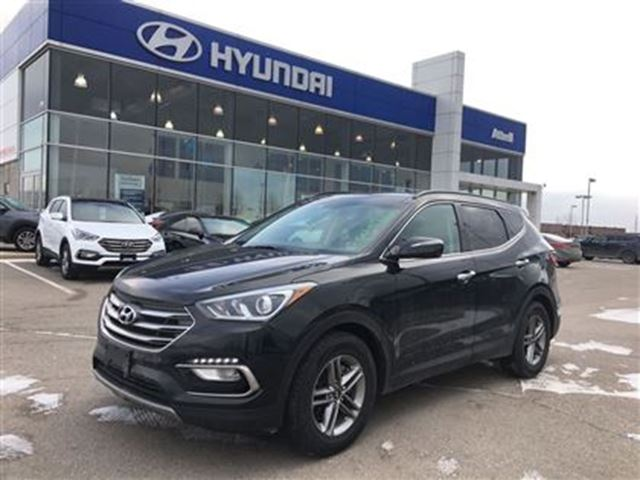 2017 hyundai santa fe se brampton ontario used car for sale 2693875. Black Bedroom Furniture Sets. Home Design Ideas