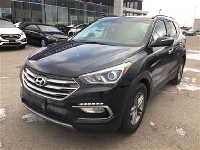 2017 hyundai santa fe se panoramic roof awd brampton ontario used car for sale 2693875. Black Bedroom Furniture Sets. Home Design Ideas