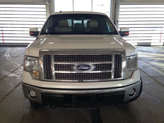 Used Car Lots Edmonton: 2011 Ford F-150 Lariat 4x4, SupCrew Cab, Leather Seats