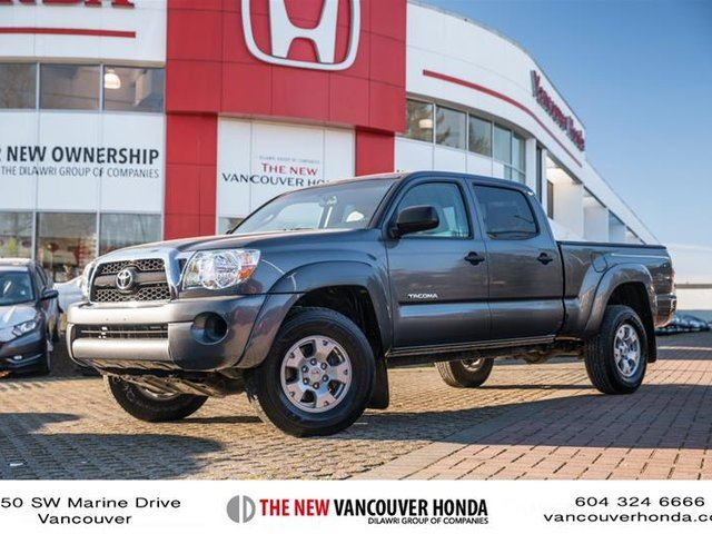 2011 toyota tacoma 4x4 dbl cab v6 5a vancouver british. Black Bedroom Furniture Sets. Home Design Ideas