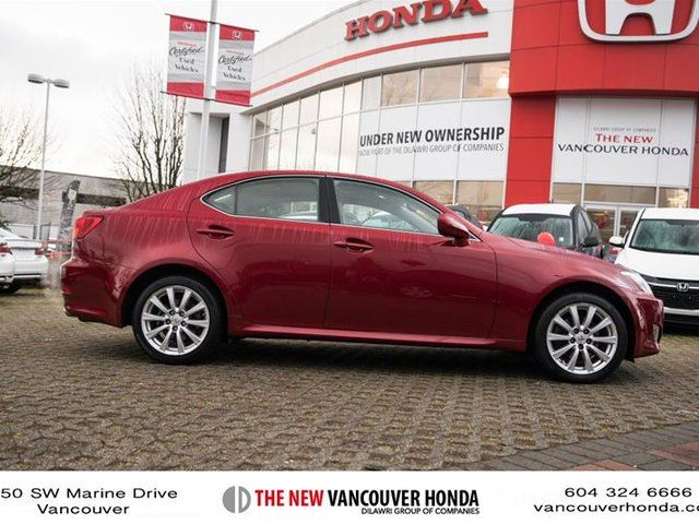 2008 lexus is 250 awd 6a vancouver british columbia used car for sale 2693012. Black Bedroom Furniture Sets. Home Design Ideas