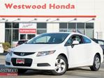 2013 Honda Civic LX (A5) in Port Moody, British Columbia