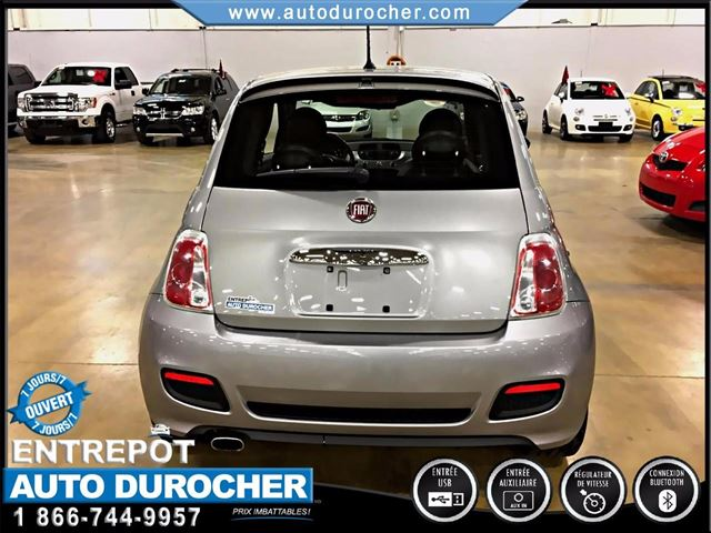 2015 fiat 500 sport automatique tout n quipn bluetooth laval quebec used car for sale. Black Bedroom Furniture Sets. Home Design Ideas