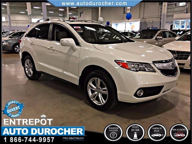 2014 Acura RDX CAMERA DE RECUL TOIT OUVRANT BLUETOOTH CUIR in Laval, Quebec