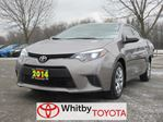2014 Toyota Corolla LE in Whitby, Ontario