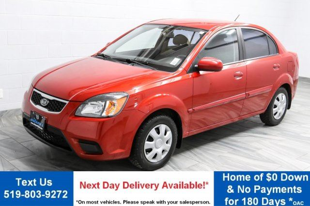 2011 kia rio lx 35 wk zero down heated seats. Black Bedroom Furniture Sets. Home Design Ideas