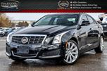 2014 Cadillac ATS Luxury AWD Navi Sunroof Bluetooth Backup Cam Leather R-Start Heated Seat 17Alloy Rims in Bolton, Ontario