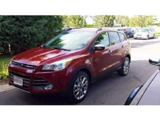 2015 ford escape se fwd mississauga ontario used car for sale 2693935. Black Bedroom Furniture Sets. Home Design Ideas