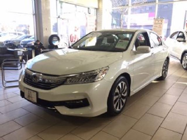 2017 honda accord hybrid touring w full term warranty