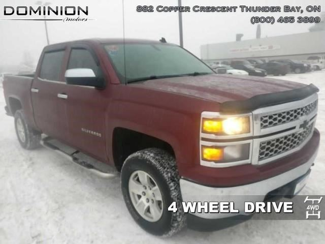 2014 chevrolet silverado 1500 lt w 1lt red dominion Dominion motors thunder bay
