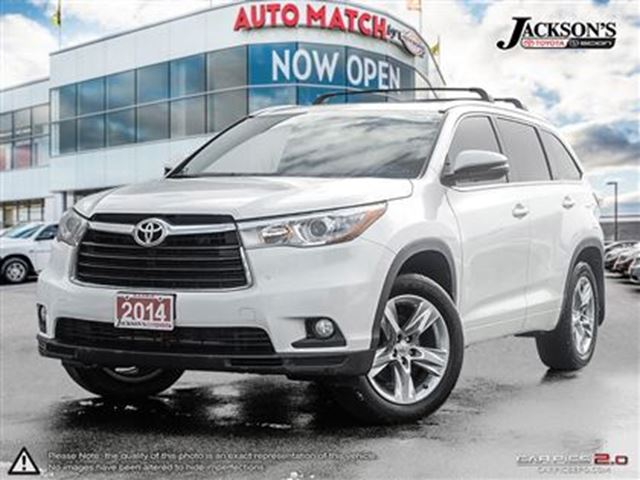 2014 toyota highlander limited barrie ontario used car for sale 2694783. Black Bedroom Furniture Sets. Home Design Ideas