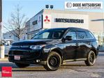 2014 Mitsubishi Outlander 4WD GT DVD LEATHER NAVI 18 ALLOYS in Mississauga, Ontario