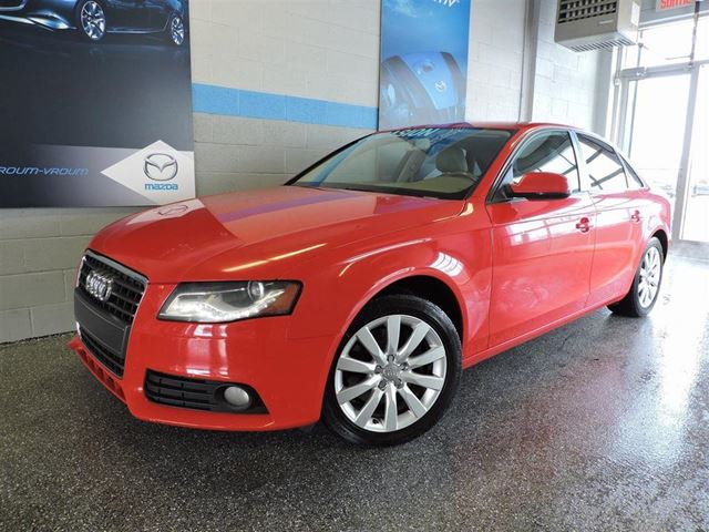 2010 Audi A4 2.0T QUATTRO AWD in Longueuil, Quebec