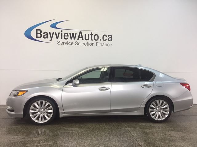 2014 Acura RLX TECH PKG- 3.5L! SUNROOF! LEATHER! P-AWS!  in Belleville, Ontario
