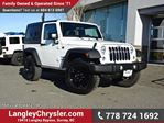2016 Jeep Wrangler Sport LOW KMS & ACCIDENT FREE w/ 6-SPEED MANUAL in Surrey, British Columbia