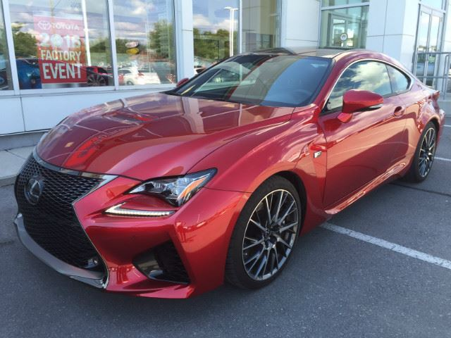 2016 LEXUS RC F   PERFORMANCE PACKAGE! in Cobourg, Ontario