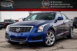 2013 Cadillac ATS AWD Sunroof Backup Cam Bluetooth Leather Heated Front Seats Keyless Go 17Alloy Rims in Bolton, Ontario