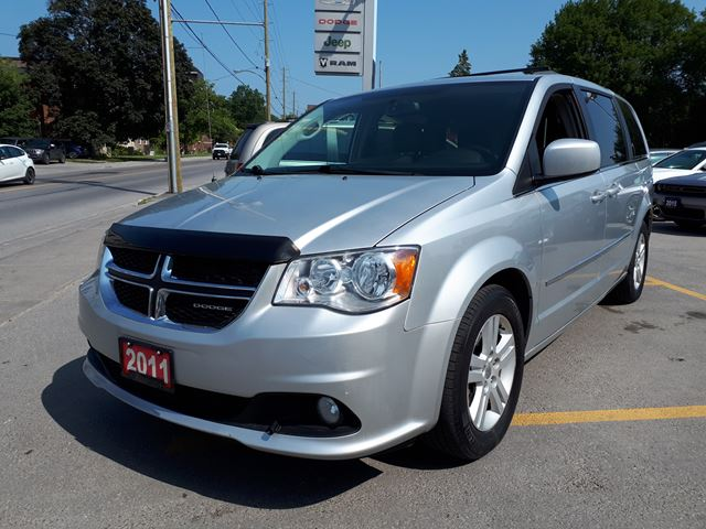 2011 dodge grand caravan crew silver manley motors for Manley motors used cars