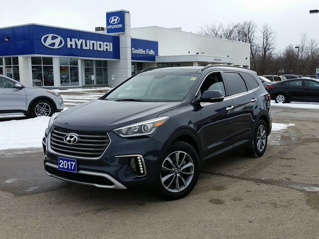 2017 hyundai santa fe xl luxury smiths falls ontario used car for sale 2694126. Black Bedroom Furniture Sets. Home Design Ideas