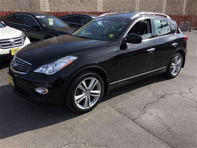 2012 infiniti ex35 automatic heated seats back up camera awd black j p motors. Black Bedroom Furniture Sets. Home Design Ideas
