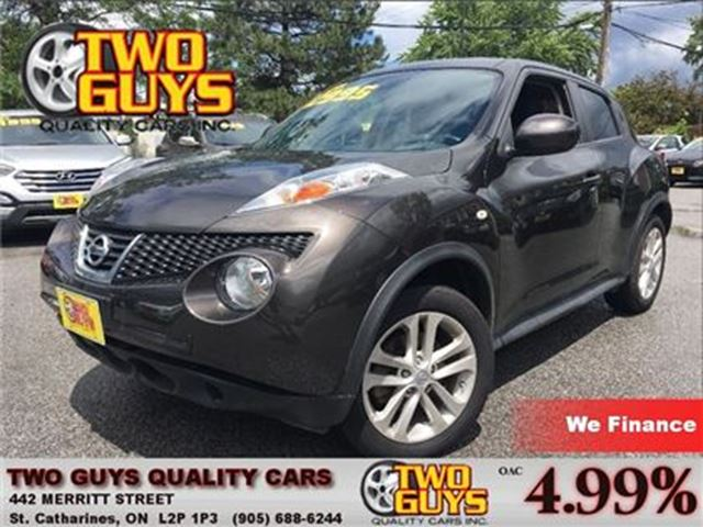 2012 NISSAN JUKE SV AWD (CVT) BLACK BEAUTY  CRUISE CONTROL in St Catharines, Ontario