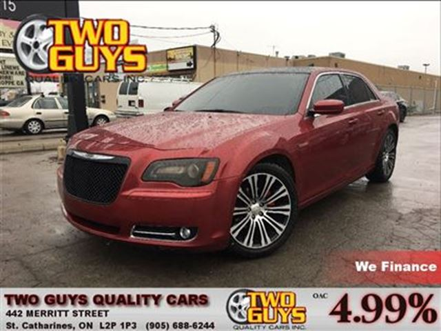 2013 Chrysler 300 S  LEATHER PANORAMA ROOF BRAND NEW 20 INCH TIRES in St Catharines, Ontario