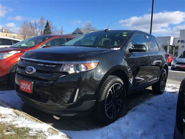 2014 ford edge sel awd roof navigation niagara falls for Ford edge motor oil type