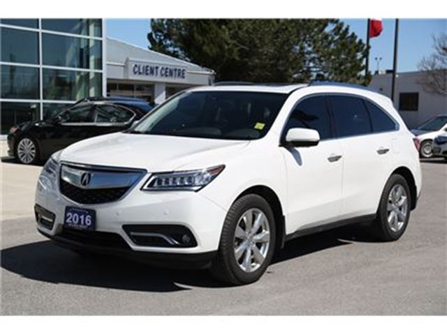 2016 ACURA MDX Elite Package in London, Ontario