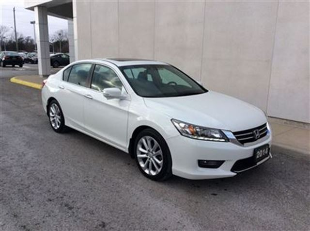 2014 honda accord touring welland ontario used car for sale 2695929. Black Bedroom Furniture Sets. Home Design Ideas