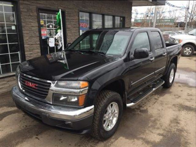 2009 GMC Canyon SLE CREW 4X4 LOADED NICE! - Edmonton, Alberta Used Car For Sale - 2696016